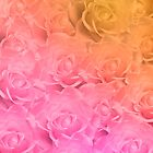 Colorful Roses Art Design by hurmerinta