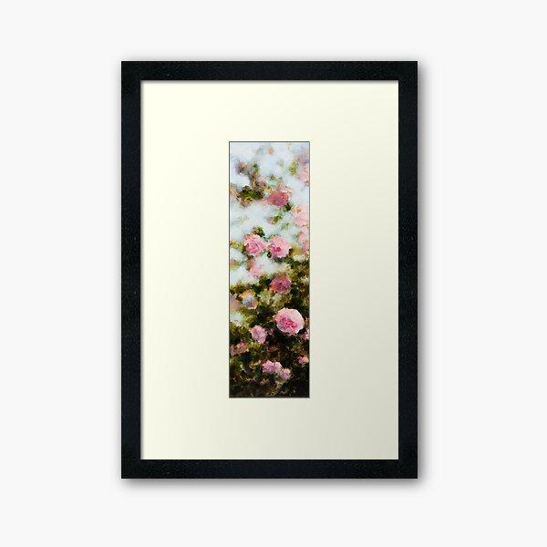Buisson de roses Impression encadrée