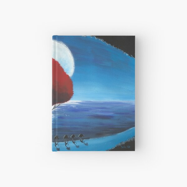 red tree Hardcover Journal
