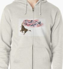 Keeper of Skies I Zipped Hoodie