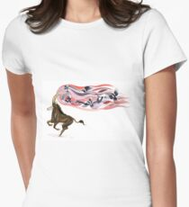 Keeper of Skies I Women's Fitted T-Shirt