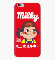 Milchiger Peko-Chan iPhone-Hülle & Cover