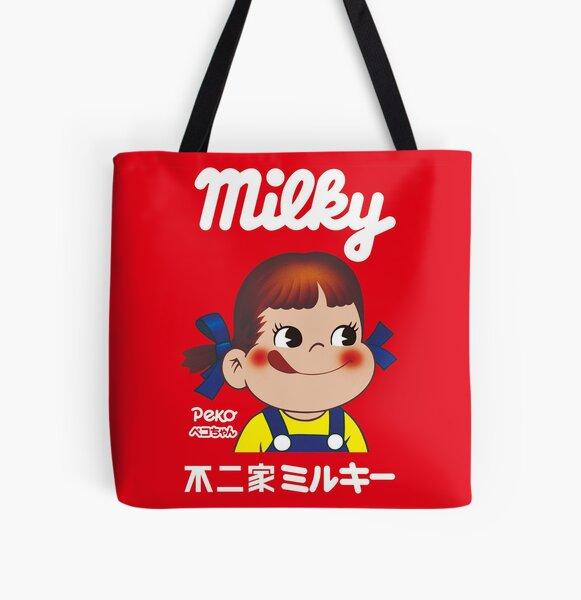 Milky Peko-chan All Over Print Tote Bag