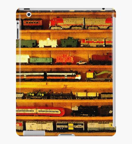many trains iPad Case/Skin