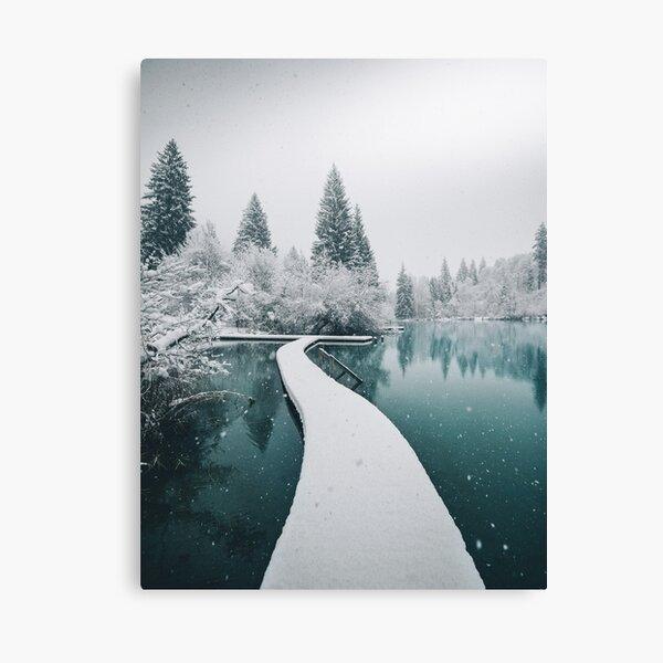 Twintheworld - Cresta Lake Canvas Print