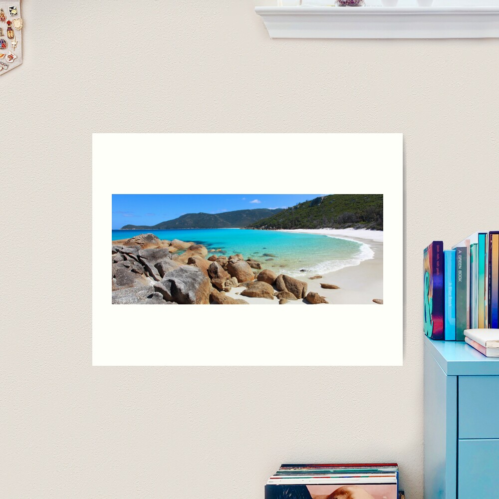 Little Waterloo Bay, Wilsons Promontory, Victoria, Australia Art Print