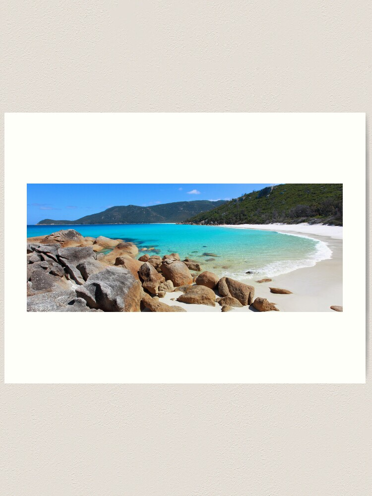 Alternate view of Little Waterloo Bay, Wilsons Promontory, Victoria, Australia Art Print