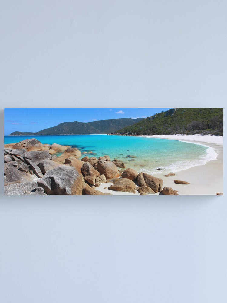 Alternate view of Little Waterloo Bay, Wilsons Promontory, Victoria, Australia Canvas Print