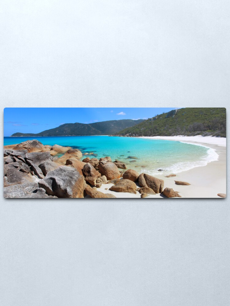 Alternate view of Little Waterloo Bay, Wilsons Promontory, Victoria, Australia Metal Print