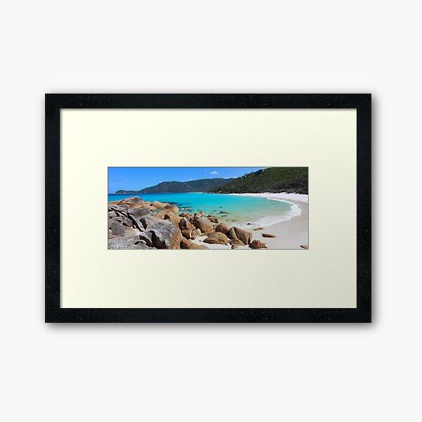 Little Waterloo Bay, Wilsons Promontory, Victoria, Australia Framed Art Print