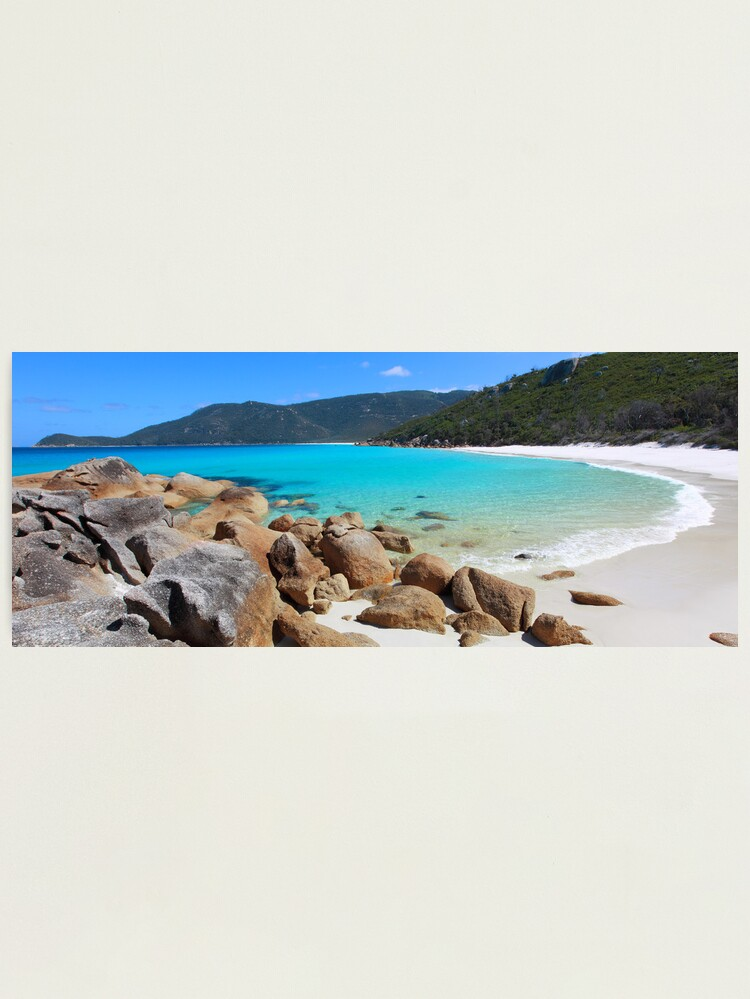 Alternate view of Little Waterloo Bay, Wilsons Promontory, Victoria, Australia Photographic Print