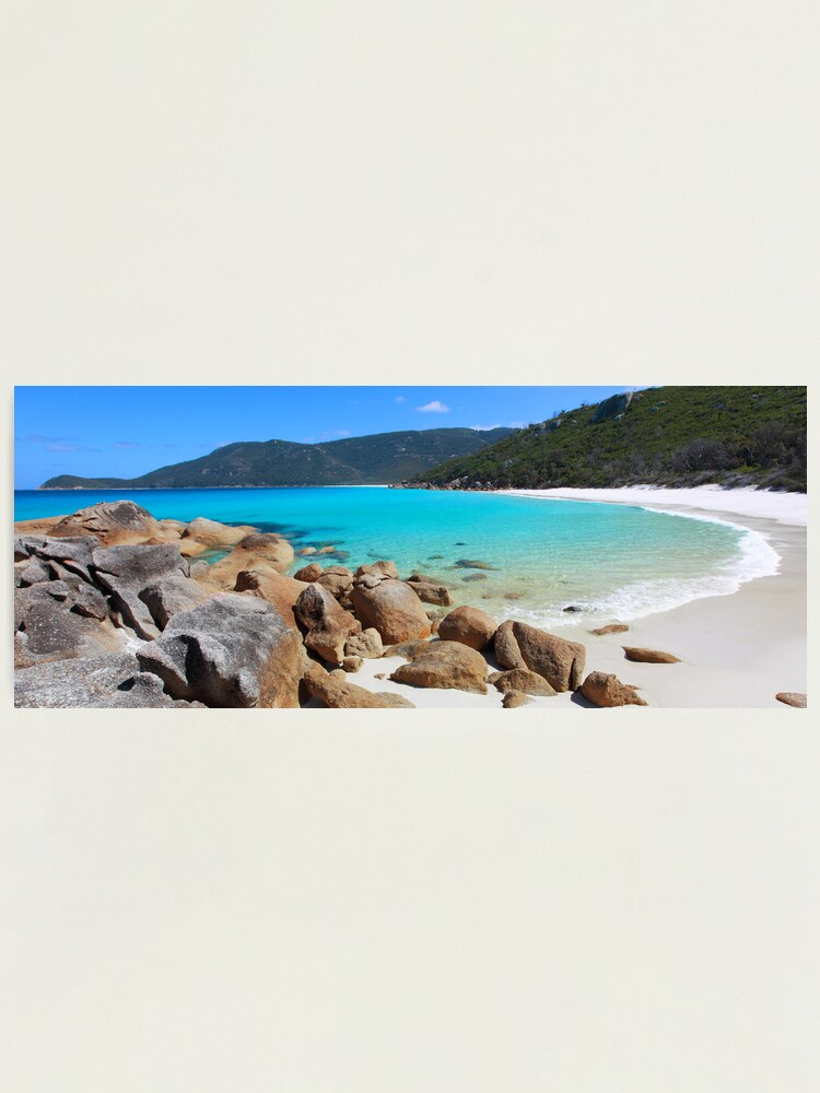 Alternate view of Little Waterloo Bay, Wilsons Promontory, Victoria, Australia Photographic Print