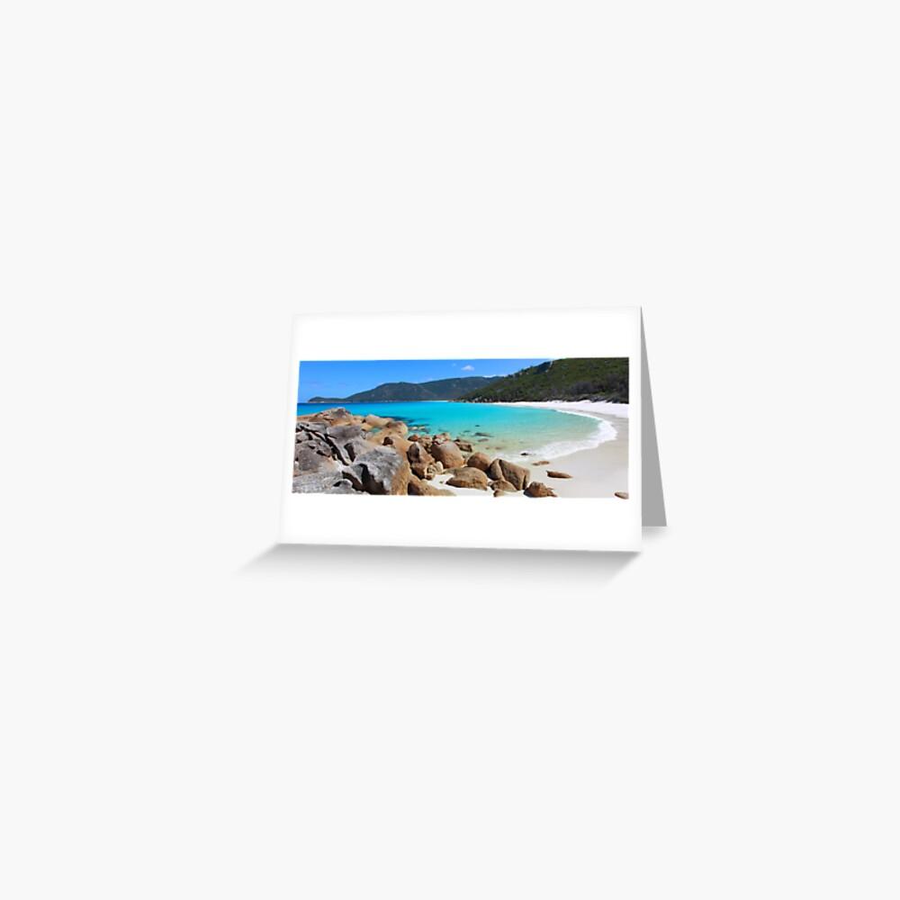 Little Waterloo Bay, Wilsons Promontory, Victoria, Australia Greeting Card