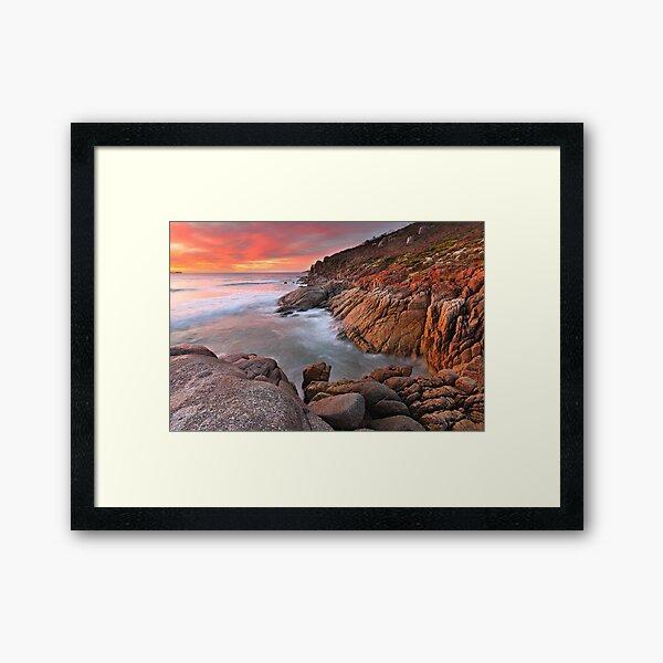 Whisky Bay, Wilsons Promontory, Victoria, Australia Framed Art Print