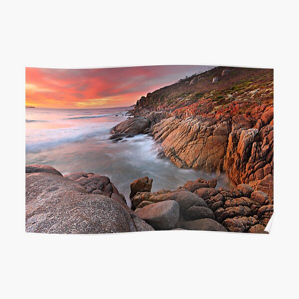 Whisky Bay, Wilsons Promontory, Victoria, Australia Poster
