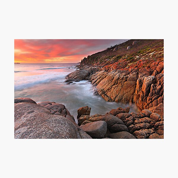 Whisky Bay, Wilsons Promontory, Victoria, Australia Photographic Print