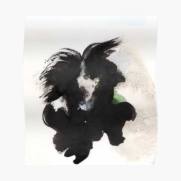 Abstract - When a Porcupine, a Goat and a happy Alien meet Poster