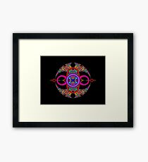 In the Circle Framed Print