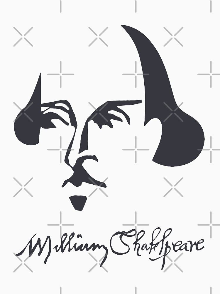 Shakespeare Simple Image with Signature by incognitagal