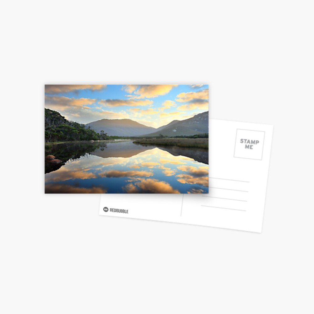 Tidal River Awakens, Wilsons Promontory, Victoria, Australia Postcard