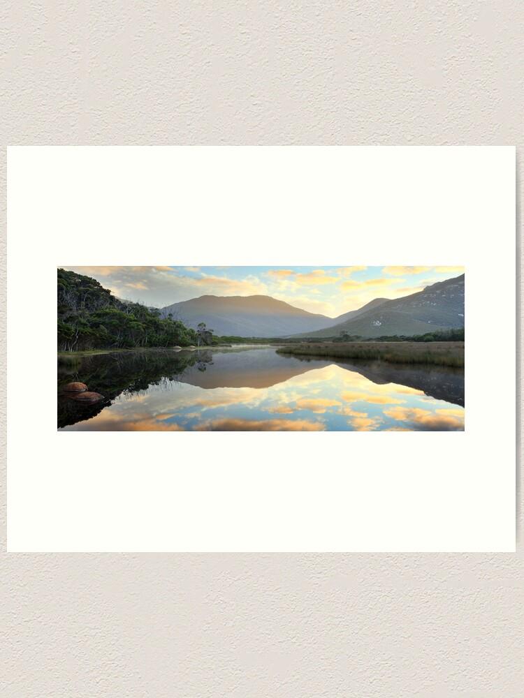 Alternate view of Tidal River Awakens, Wilsons Promontory, Victoria, Australia Art Print