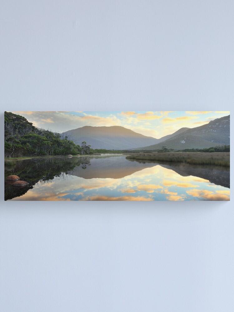 Alternate view of Tidal River Awakens, Wilsons Promontory, Victoria, Australia Canvas Print