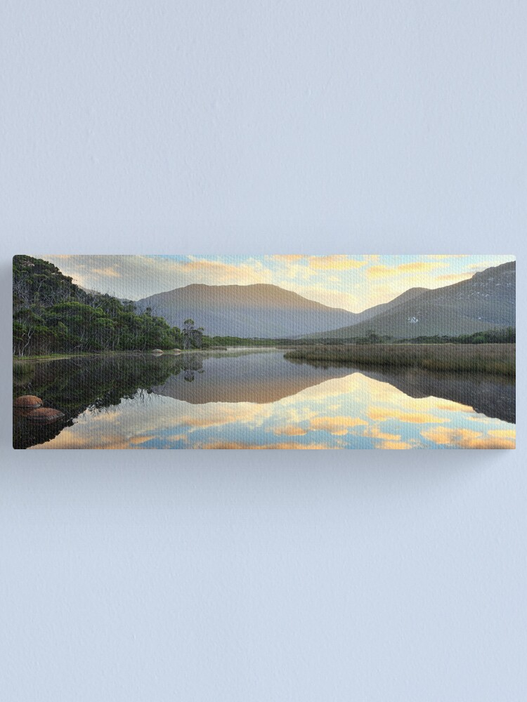 Alternate view of Tidal River Awakens, Wilsons Promontory, Victoria, Australia Canvas Print