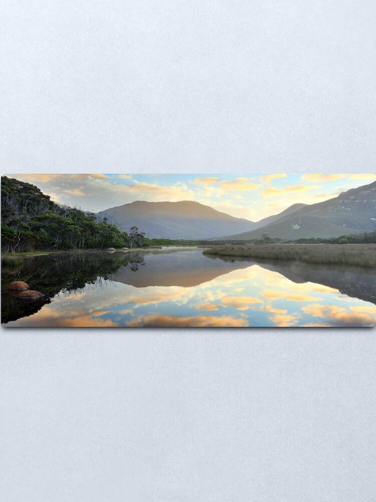 Alternate view of Tidal River Awakens, Wilsons Promontory, Victoria, Australia Metal Print