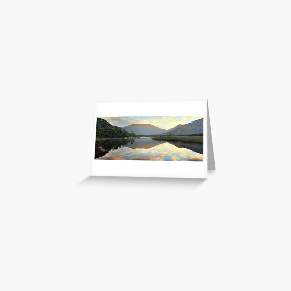 Tidal River Awakens, Wilsons Promontory, Victoria, Australia Greeting Card