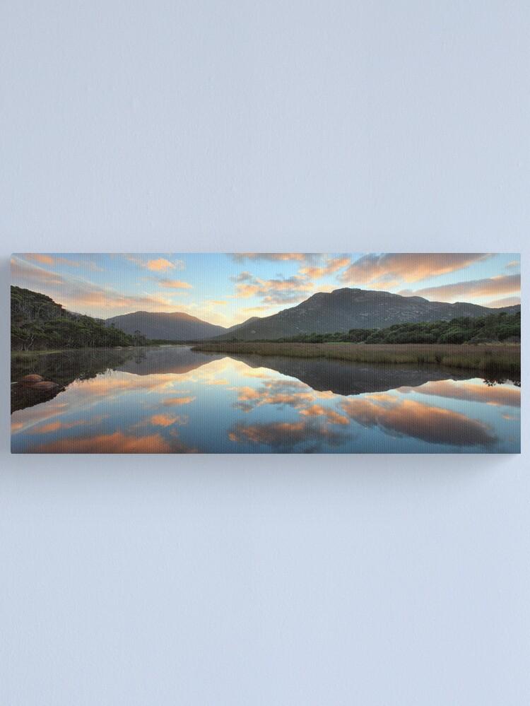Alternate view of Tidal River Dawn, Wilsons Promontory, Victoria, Australia Canvas Print