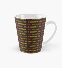Chocolate Arrowed Laxham Tall Mug