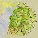The Green Man in Spring by Theuglyhouse