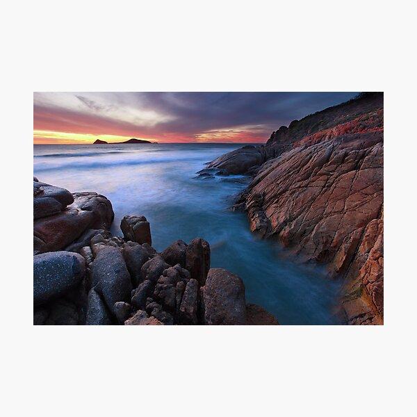Whisky Bay Dusk, Wilsons Promontory, Victoria, Australia Photographic Print