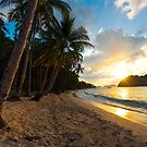Sunset - Elnido by Bobby McLeod