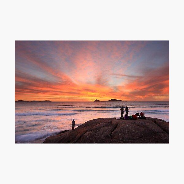 The Fishing Trip, Whisky Bay, Wilsons Promontory, Australia Photographic Print