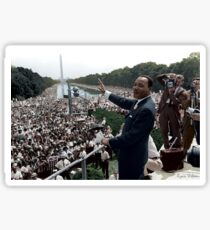 MLK's March On Washington, August 27, 1963 Sticker