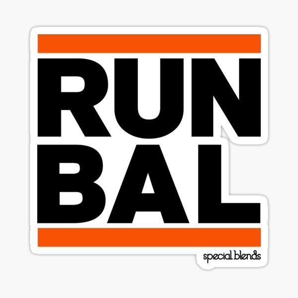 Run Baltimore BAL Sticker