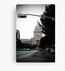 Capital Blues Canvas Print