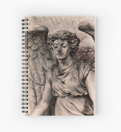 Angel with a dirty face Spiral Notebook
