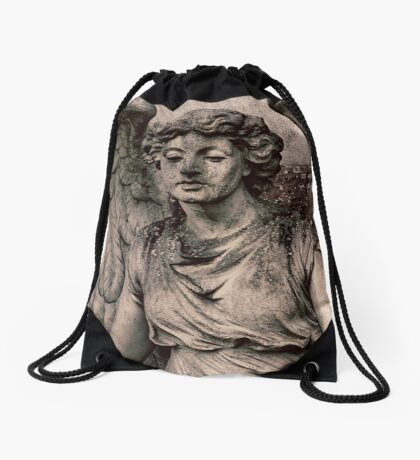 Angel with a dirty face Drawstring Bag