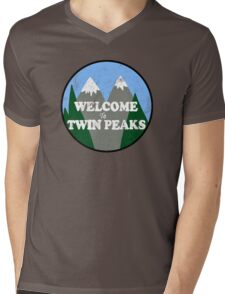 Twin Peaks Mens V-Neck T-Shirt