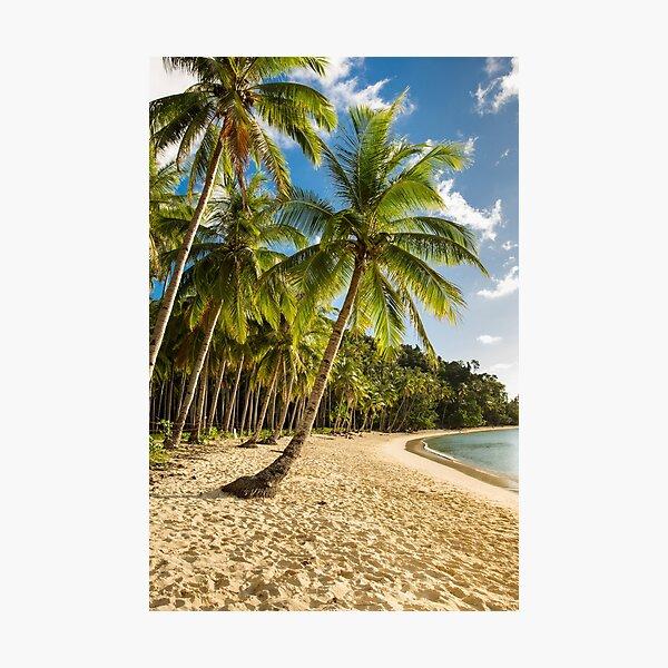 Beach, Elnido, Palawan, Philippines Photographic Print