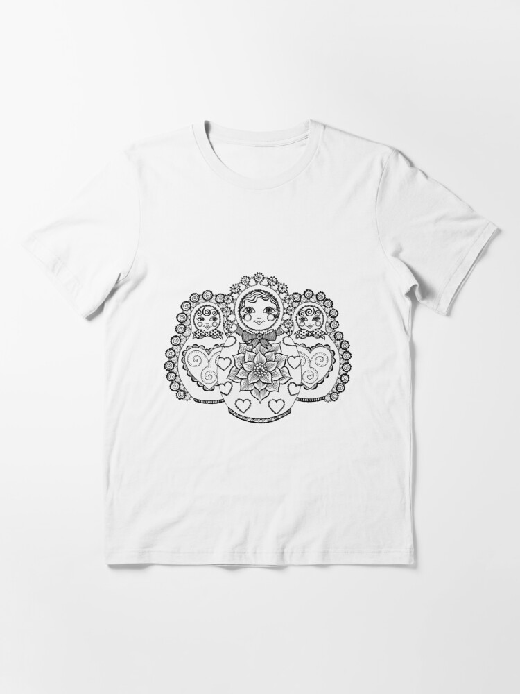 Alternate view of Valley of the Russian Dolls Essential T-Shirt