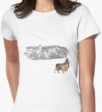Keeper of Skies II Women's Fitted T-Shirt