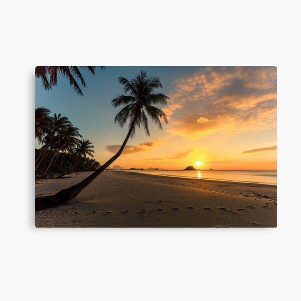 Sunset, Elnido, Palawan, Philippines Canvas Print