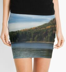 Late Autumn Colours on Lake Walchen Mini Skirt
