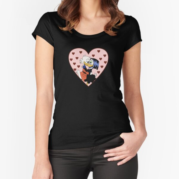 Dimeshipping - Loving gaze Fitted Scoop T-Shirt
