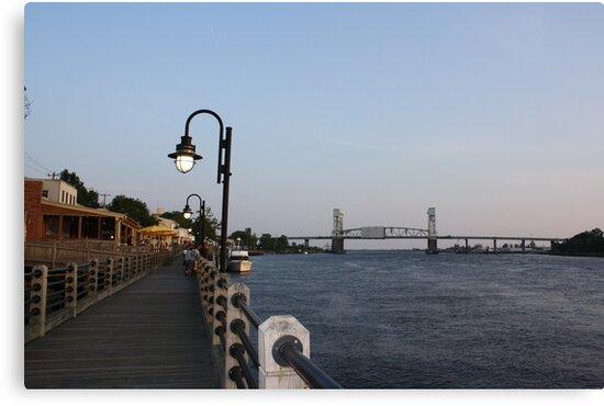 Wilmington Dusk by Yajhayra Maria