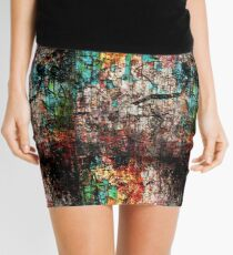 The reclining dreamer Mini Skirt