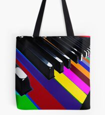 Colourful Music Tote Bag